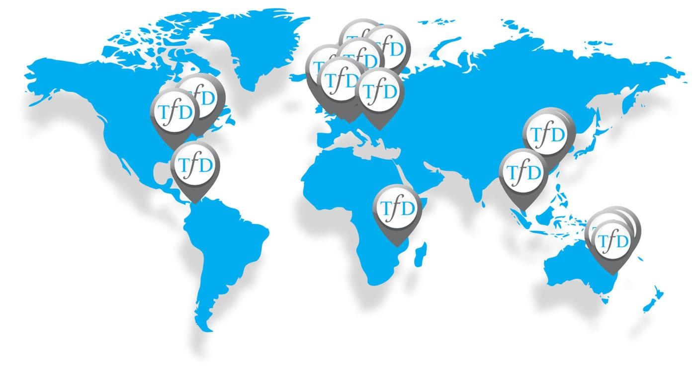 ToD Worldwide winners map