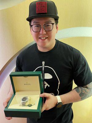 Winner Black Daytona Hong Zheng Thea