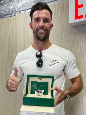 Winner James Reilly